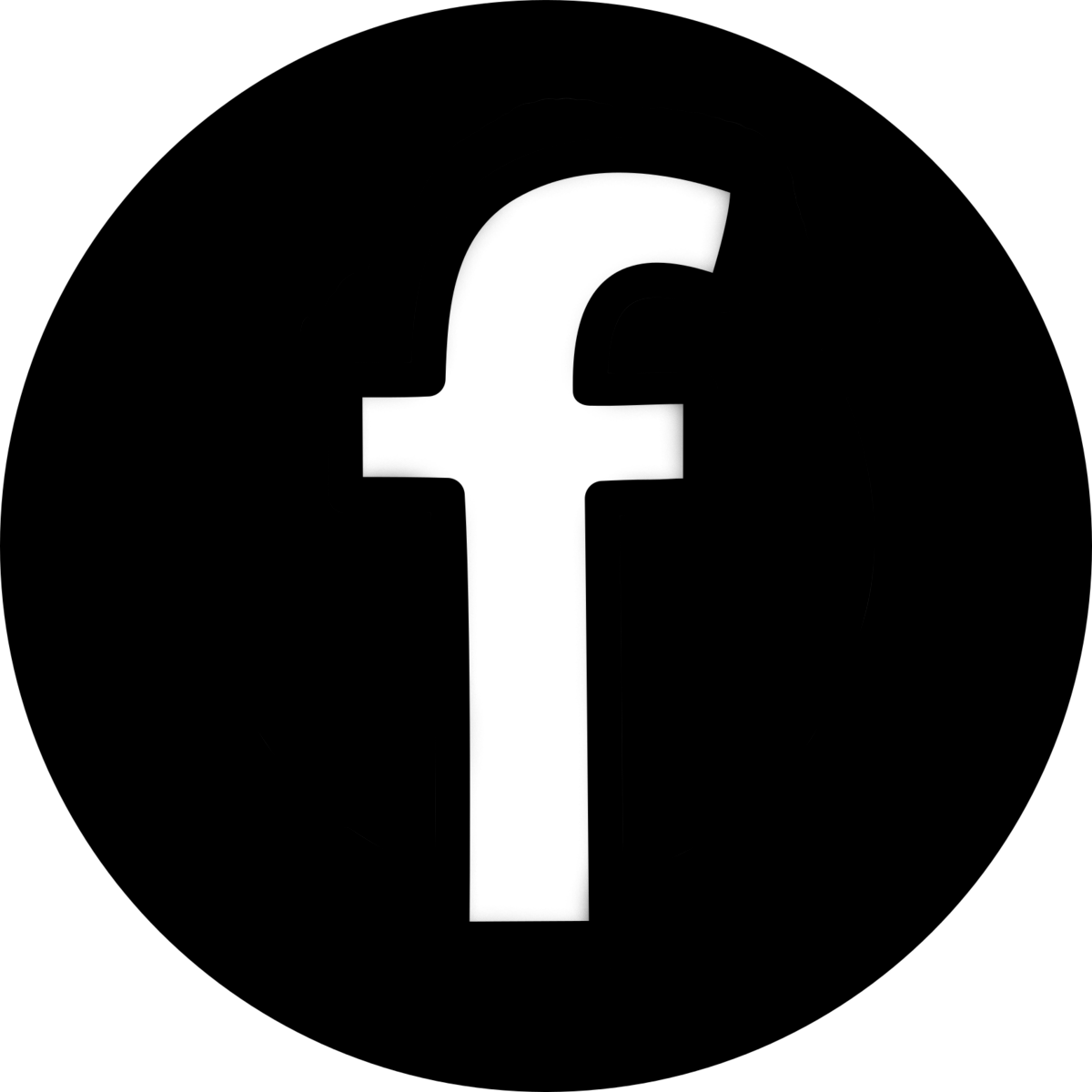 black and white facebook logo transparency pictures to pin