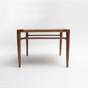 Spotlight On Smilow Furniture's Woven Rush Ottoman
