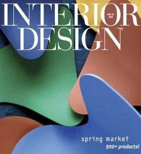 Smilow Furniture Featured in INTERIOR DESIGN Spring 2015 Market Tabloid Issue