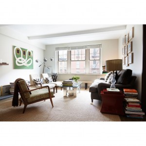 Smilow Lounge Chair as seen in Peter Som's apt – featured in Lonny