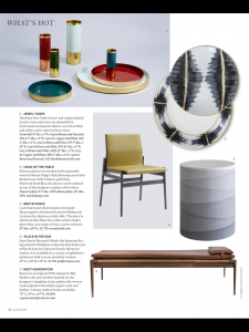 Elle Decor Features Rush Day Bed