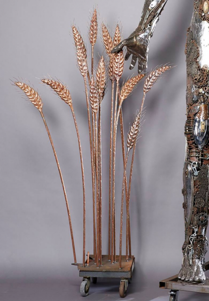 copper wheat by Morgan Raimond for Dana Albany's Gatekeeper
