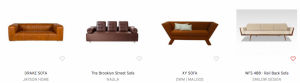 Dering Hall Features Smilow® Furniture's Rail Back Sofa in 60 Modern Sofa Designs