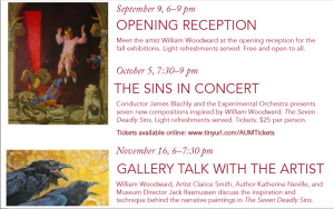 The Seven Deadly Sins by William Woodward at American University Museum at the Katzen Arts Center Sept 5 – Dec 17, 2017
