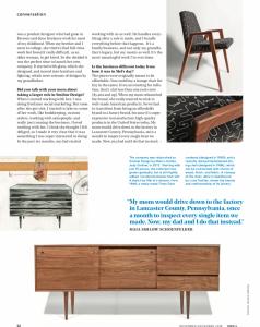 Smilow Design and Maia Schoenfelder in Dwell Magazine
